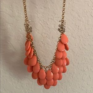 Adjustable pink beaded Forever 21 Necklance